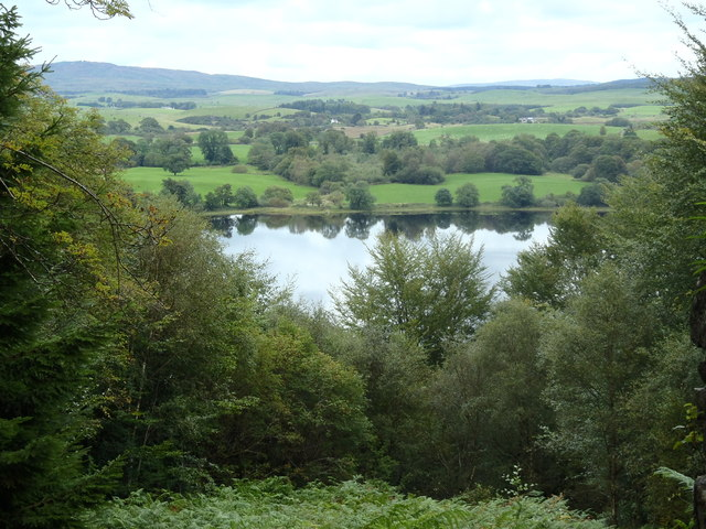 View of Loch Ken from John Murray's Monument