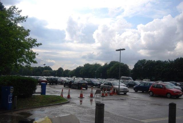 UEA - car park