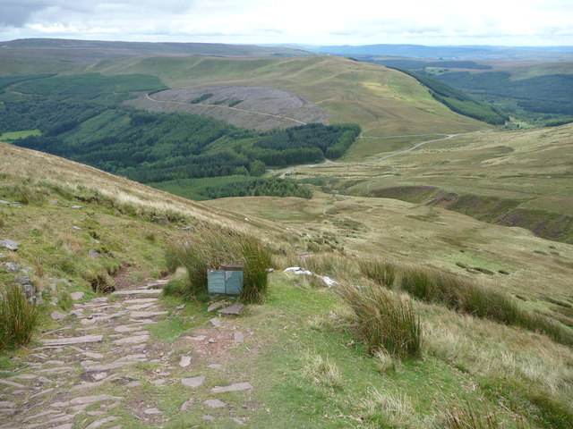 The Beacons Way on Craig y Fan Ddu