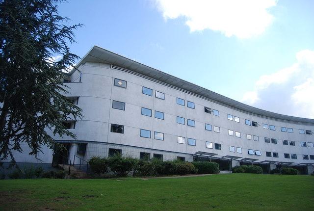 UEA - hall of accommodation