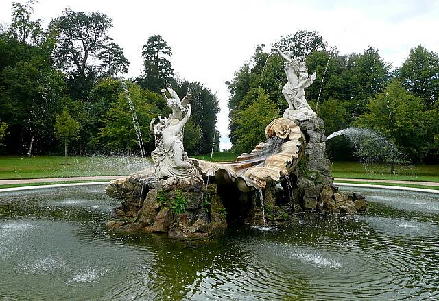 Cliveden, the fountain