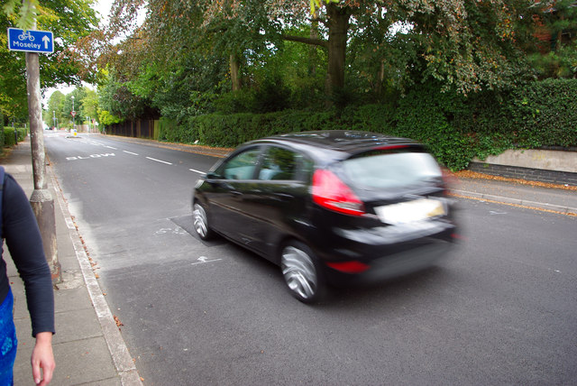 Traffic calming on Oakfield Road