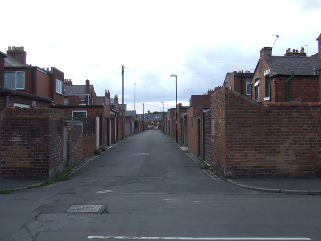 Alley in Houghton-le-Spring