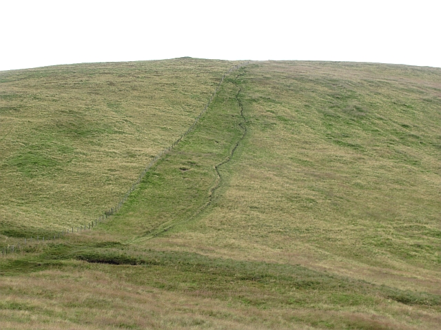 Path on Ben Cleuch