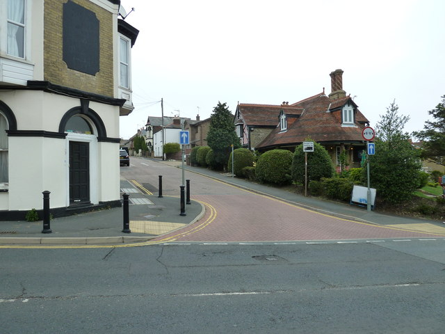 Looking from St John's Road into Player Street