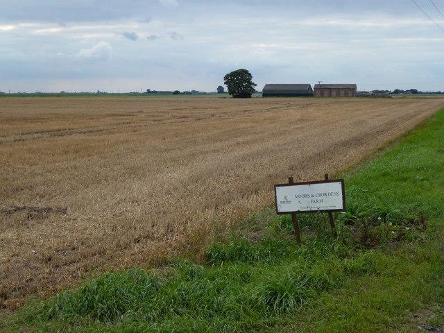 Crowden's Farm on White Moor