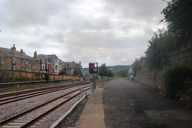 End of the platform at Scarborough Station