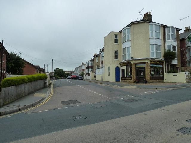 Looking from St John's Road into Quarry Road