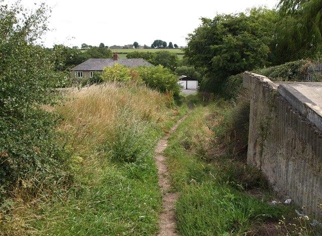 Bridleway near Rigton Moor Farm