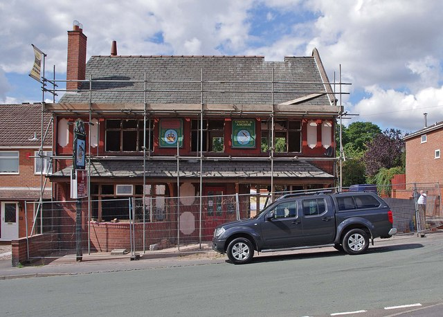 The former Crown & Anchor (5), 115A Enville Road, Kinver