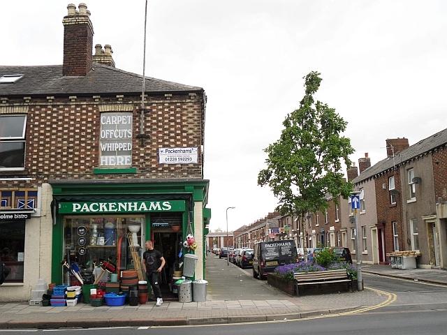 Packenhams kitchen and hardware shop, Denton Holme