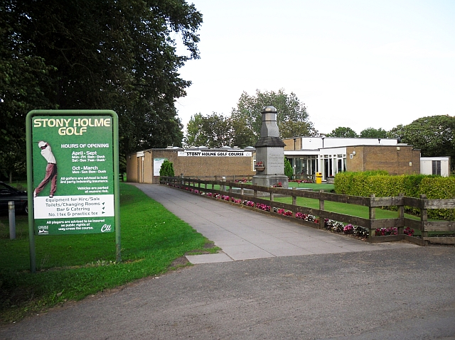 Clubhouse, Stony Holme Golf Course