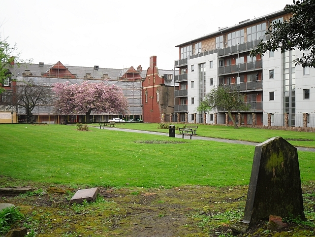 Park on site of former church