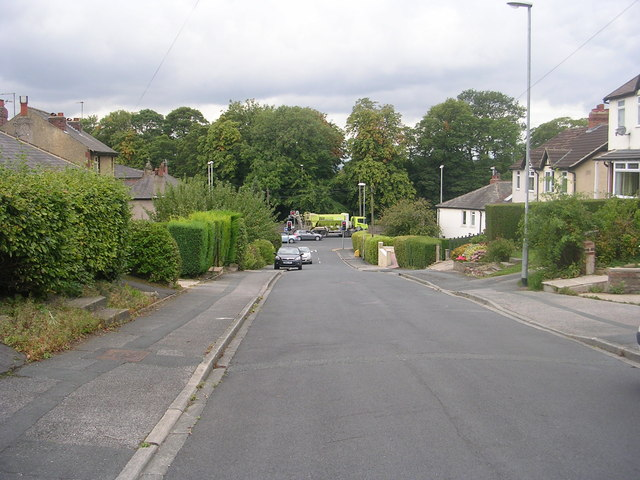 Crow Trees Park - looking towards Leeds Road
