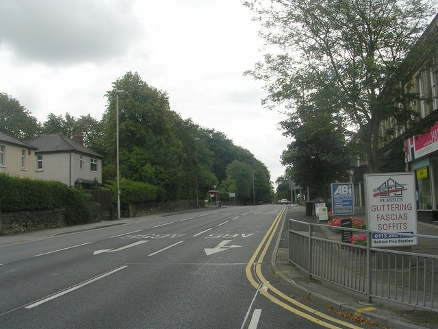 Leeds Road - viewed from New Road Side