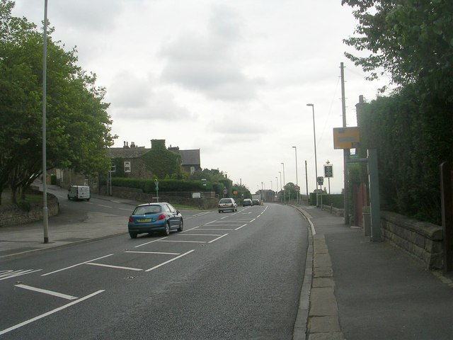 Leeds Road - viewed from Rawdon Drive