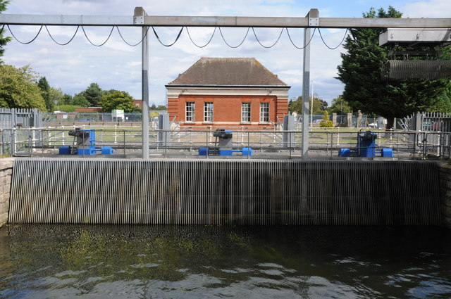 Laleham Raw Water Intake
