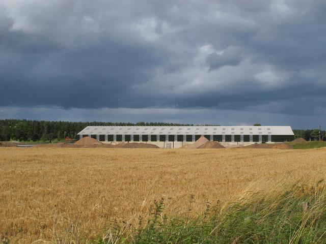New Farm Buildings at Feddon