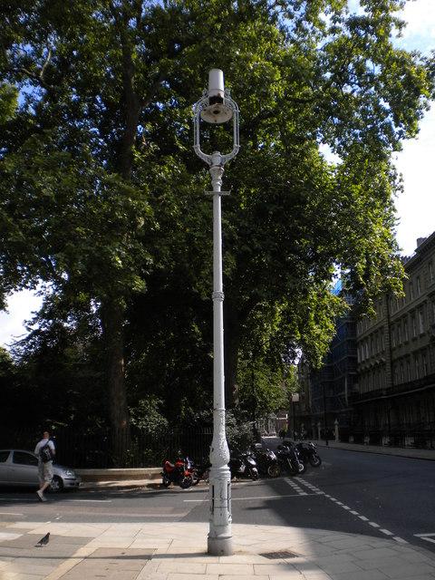 Lamp post, Gordon Street WC1