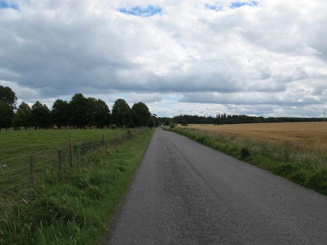 Road near Muirside