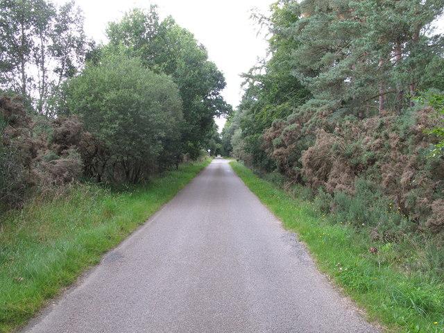 Minor Road from Kintessack to Nairn