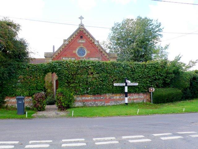 Wesleyan Chapel 1895