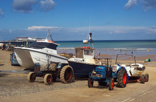 Fishing boats, Cromer
