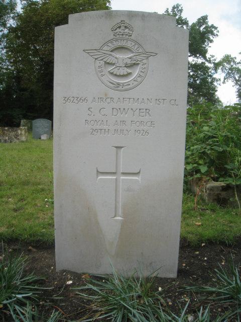 Aircraftman 1st Cl. S.C. Dwyer