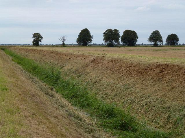 Drain near Thorney Dyke