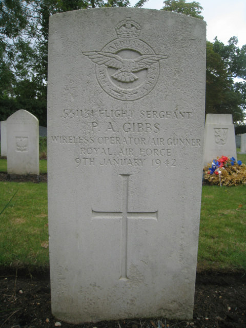 Flight Sergeant  P.A. Gibbs