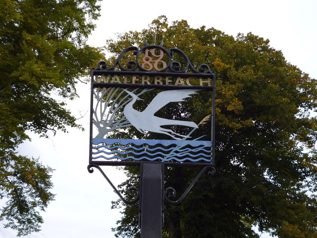 Waterbeach Village Sign