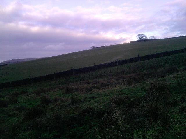 Hill near Birch Vale Mast