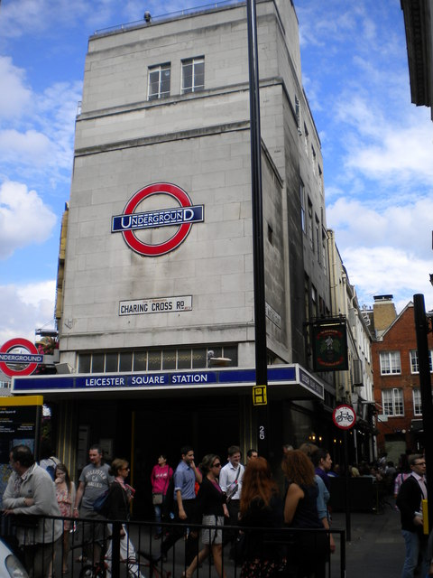 Leicester Square Underground Station, Charing Cross Road WC2