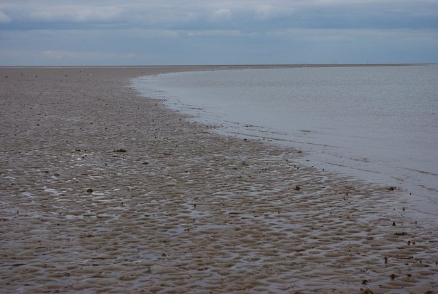 Eastern edge of sandbank