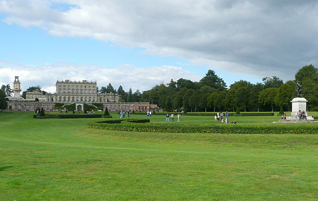 Cliveden, view from the parterre