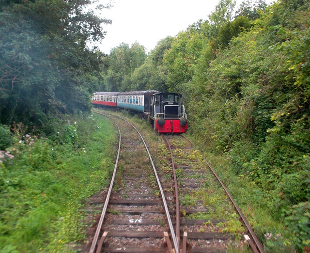 On The East Kent Railway