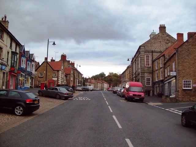 Market Place in Kirkbymoorside