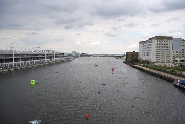 British Gas Swim - Royal Victoria Dock