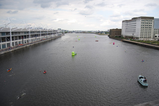 British Gas Swim - Royal Victoria Dock