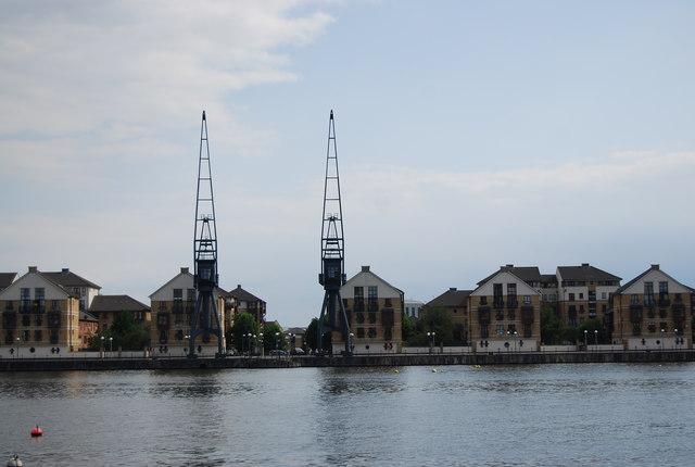 Dockside development, Royal Victoria Dock