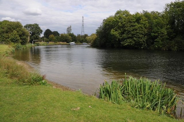 River Thames near Chertsey