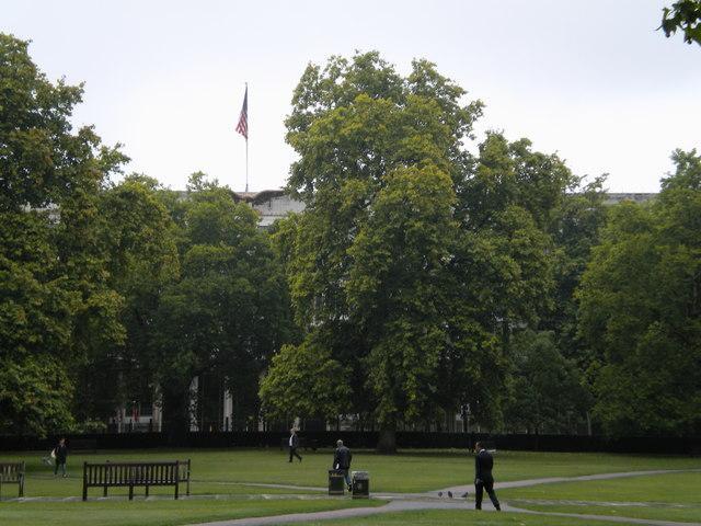 Grosvenor Square Gardens W1