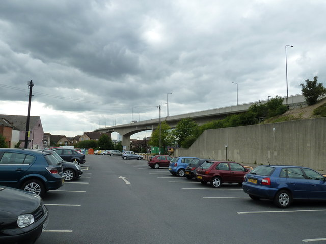 Car park by the fly over