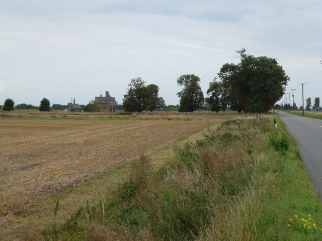 Looking along New Cut, Thorney