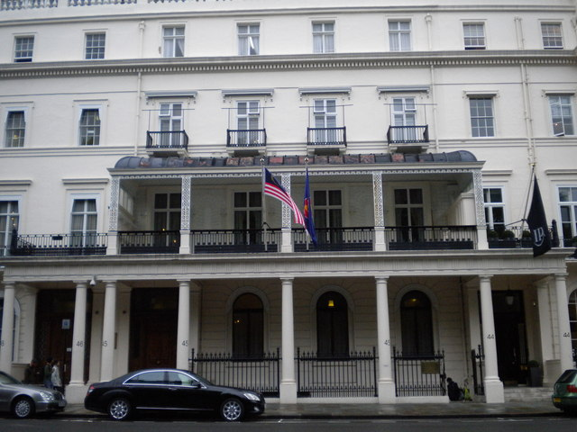 Malaysian Embassy, Belgrave Square SW1
