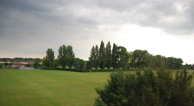 School playing fields, Walton-on-Thames