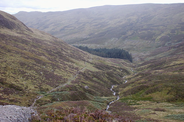 Gleann Riabhach from above