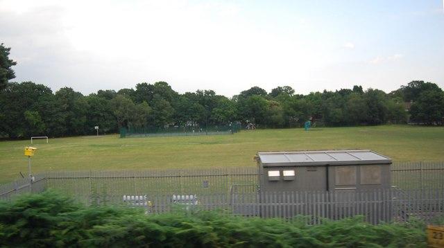 Playing fields, Maybury Estate