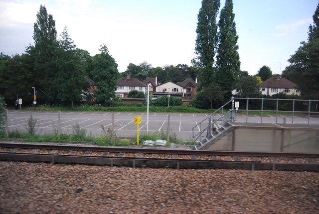 Car park, Woking Station