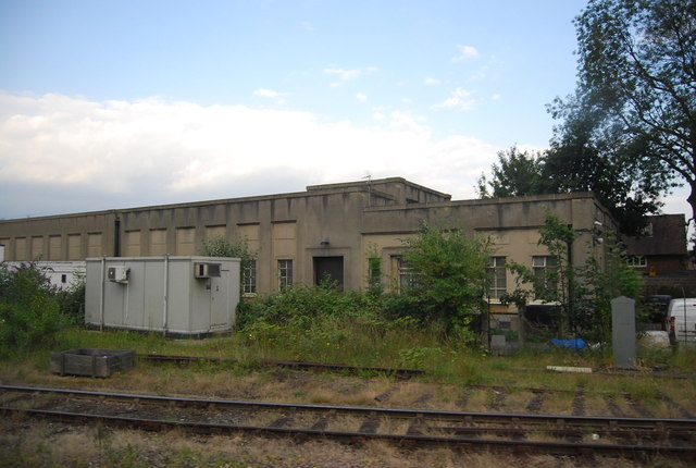 Railway building near Woking Station